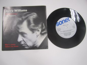 SINGEL JERRY WILLIAMS BOPPERS  WHO`S GONNA FOLLOW YOU HOME, 1990