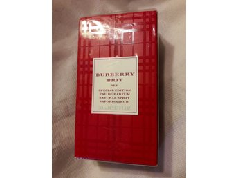 BURBERRY BRIT RED edp 50 ml, oöppnad, special edition