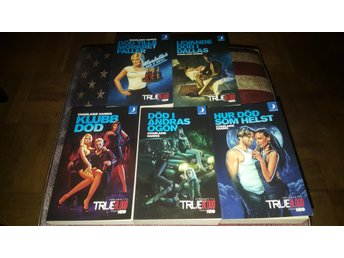 True Blood Skarsgård Vampyr Charlaine Harris Del 1 - 5