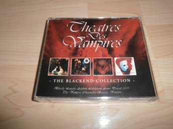 Theatre des vampires The blackend collection 4 cd goth gothic black metal