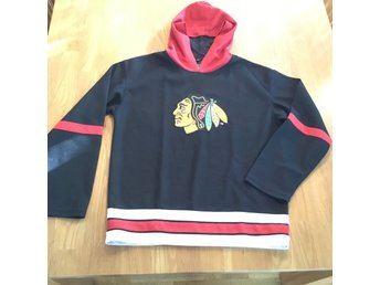 Chicago Blackhawks, hoodie, strl L junior, hockey, original