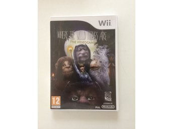 Wii spel where the Wild things are