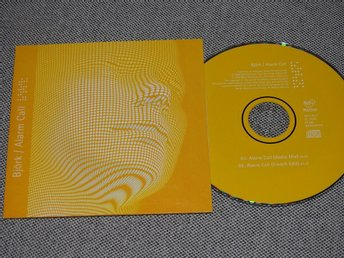 Björk - Alarm Call CD Singel (Pappfodral) Mother Records 567 142-2