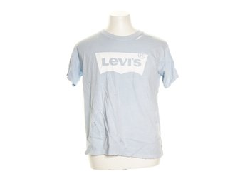 Levi Strauss & Co, T-shirt, Strl: S, GRAPHIC OTHER BF, Ljusblå