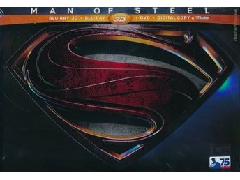 Man of steel - Ltd Collectors Edition (Blu-ray 3D + Blu-ray + DVD)