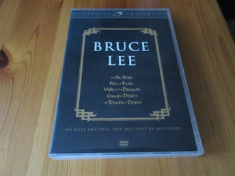 Bruce Lee Collection (5 filmer) ****OOP****