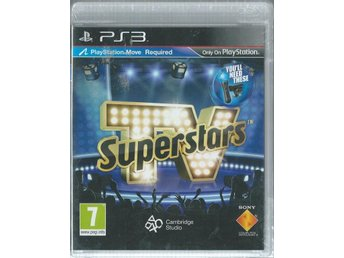 PLAY STATION MOVE - TV SUPERSTARS  ( INPLASTAT PS3  )