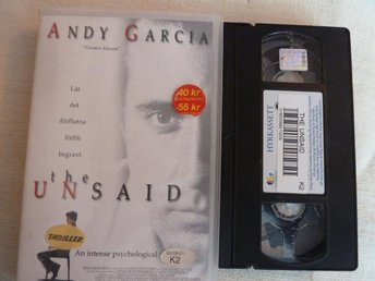 THE UNSAID,  VHS, FILM