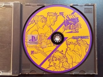 X-Men vs. Street Fighter EX Edition till Playstation - Fighting - Japanskt
