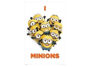 Despicable Me Affisch I Love Minions A146