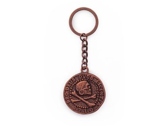 Uncharted 4: A Thief's End Keychain Pirate Coin