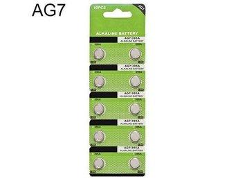 10X AG7 LR927 395 SR927 195 1.5V Alkaline Knapp Knappceller Watch Batteri Robust - Sävedalen - 10X AG7 LR927 395 SR927 195 1.5V Alkaline Knapp Knappceller Watch Batteri Robust - Sävedalen
