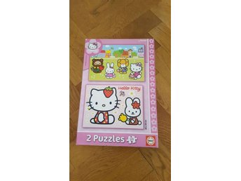 2 st 20 bitars pussel Hello Kitty