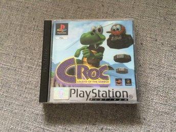 Croc till PlayStation KOMPLETT , ovanligt spel! - Hovmantorp - Croc till PlayStation KOMPLETT , ovanligt spel! - Hovmantorp