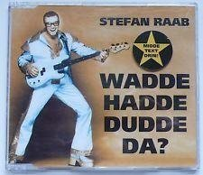 "Eurovision 2000 Germany Stefan Raab ""Wadde Hadde Dudde Da"" CD-single"