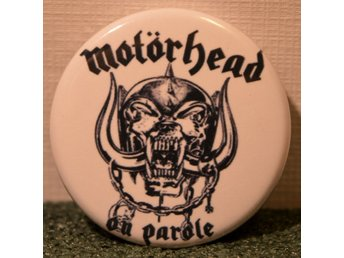 Motörhead - badge/pin/knapp - 25 mm