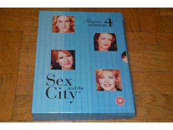 Sex And The City - Hela Säsong 4 - 3-Disc - DVD