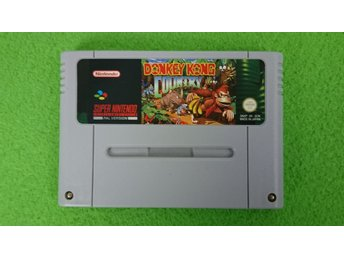 Donkey Kong Country SCN Super Nintendo Snes