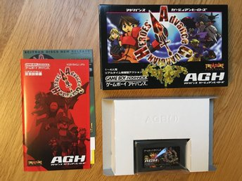 Advance Guardian Heroes for Game Boy Advance GBA
