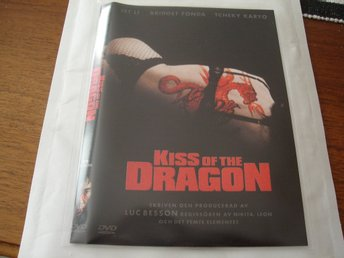 DVD-KISS OF THE DRAGON *Jet Li, Bridget Fonda*