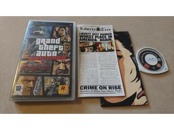 Grand Theft Auto - Liberty City Stories / PSP / GTA