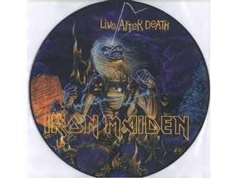 Bild LP Iron Maiden - Live Aftre Death (USA Press)