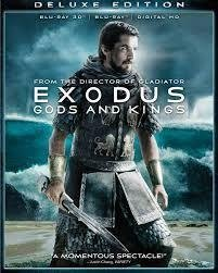 EXODUS gods and kings HD blu ray NY INPLASTAD