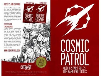 Cosmic Patrol Quick-Start Rules: The Kahn Protocol