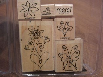 Stampin Up stämpelset - Merci