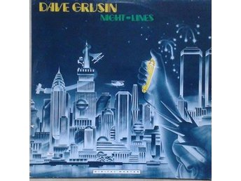 Dave Grusin title* Night Lines* Fusion, Jazz, Rock, Funk Scandinavia LP