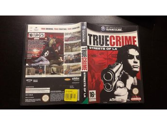 True Crime Streets Of L.A Nintendo Gamecube