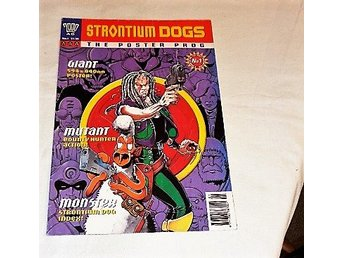 STRONTIUM DOGS. the poster prog. 2000 No.1  BRA SKICK