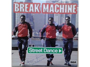 "Break Machine title* Street Dance* Hip-Hop Breaks, Electro  7"" SWE"