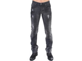 Galliano - Gray wash straight fit jeans