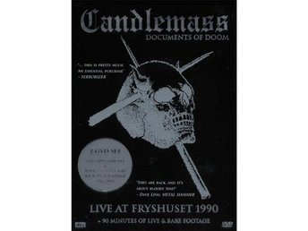 Candlemass -Documents of doom DOUBLE DVD S/S a must have