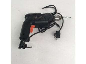 Black & Decker, Borrmaskin, BD562, Svart