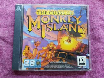 The Curse of Monkey Island - [ PC Spel ]