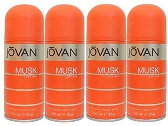 Jovan Musk Deo for Men x 4 stycken