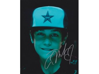 AUSTIN MAHONE AMERICAN SINGER & SONGWRITER MUSIC ARTIST SIGNED AUTOGRAF FOTO