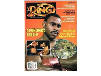 THE RING 1995 (74) No.  1 January - Oliver McCall