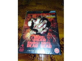 4 disc Limited Edition Box of the dead Set
