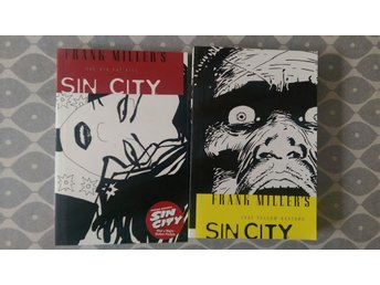 Frank Miller SIN CITY 2 album That Yellow Bastard & The Big Fat Kill MINT!!
