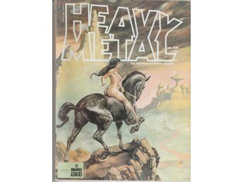 HEAVY METAL ADULT FANTASY MAGAZINE JANUARY 1978
