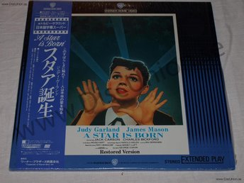 A STAR IS BORN - JUDY GARLAND JAPAN LD
