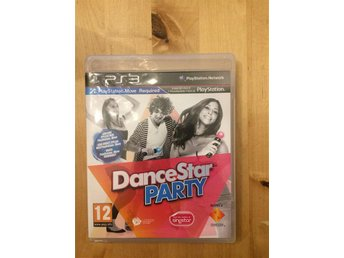 "PS 3 Move spel ""Dance Star Party"""