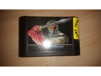 The revenge of Shinobi Sega Mega Drive