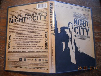 NIGHT AND THE CITY (1950) USA REGION 1 DVD Film Noir Criterion Richard Widmark - Gävle - NIGHT AND THE CITY (1950) USA REGION 1 DVD Film Noir Criterion Richard Widmark - Gävle