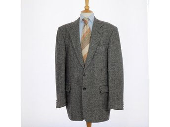 Harris Tweed, kavaj, 56, grå, se mått