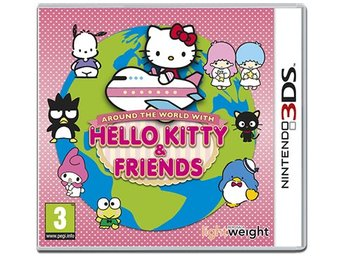 Nintendo 3DS - Hello Kitty & Friends Around The World With