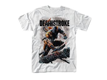 DC COMICS DEATHSTROKE SWORDS T-Shirt - Large